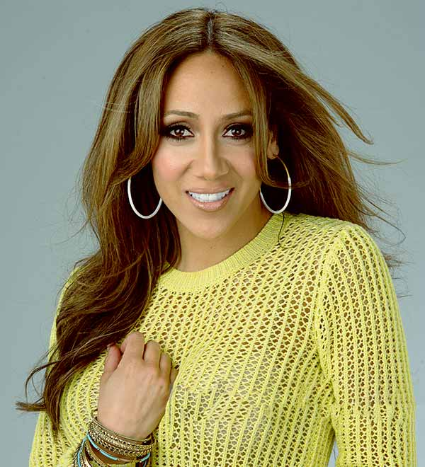 Image of Melissa Gorga from the TV reality show, The Real Housewives of New Jersey.