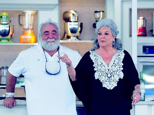 Image of Michael Groover with his wife Paula Deen.