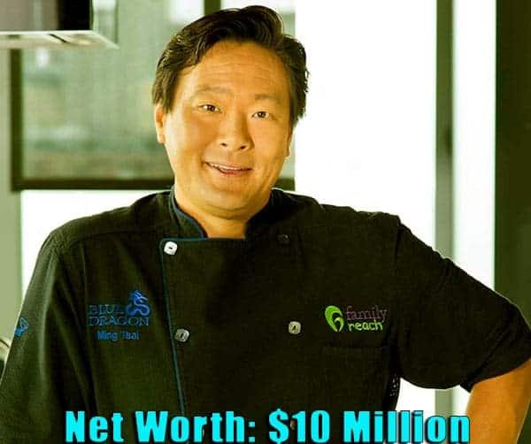 Image of Celebrity Chef, Ming Tsai net worth is $10 million