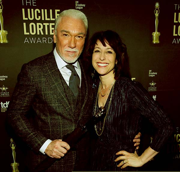 Image of Paige Davis with her husband Patrick Page