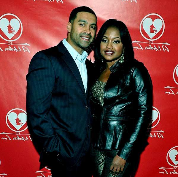 Image of Phaedra Parks with her husband Apollo Nida.