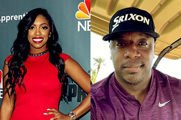 Image of Porsha Williams and her first husband Kordell Stewart,