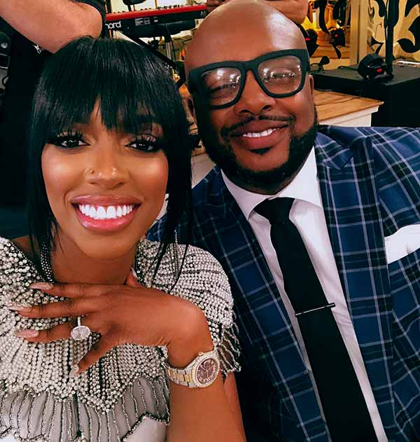 Image of Porsha Williams with her boyfriend Dennis McKinley