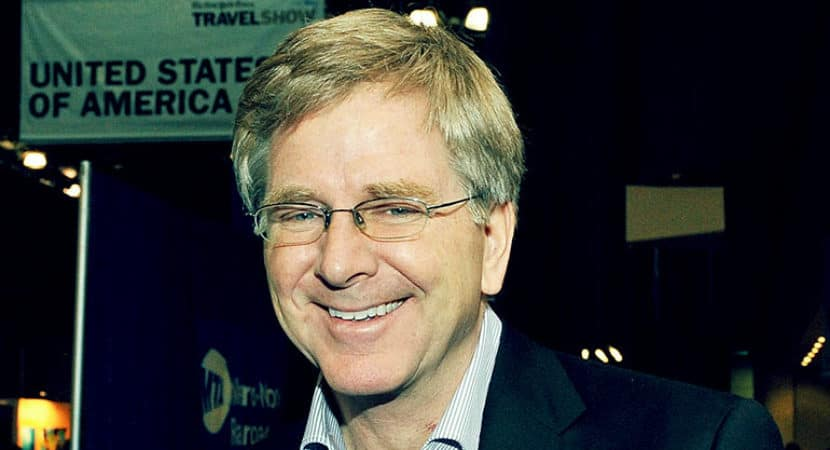 Image of Rick Steves Wife, Married, Gay, Age, Net Worth, Wiki