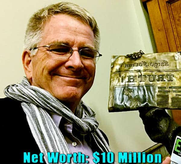 Image of TV Personality, Rick Steves net worth is $10 million