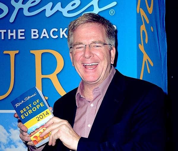 Image of Rick Steves from the TV show, Travel's in Europe with Rick Steves