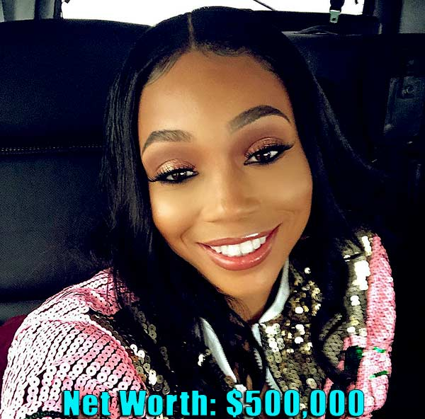 Image of TV Personality, Shamari Fears net worth is $500,000