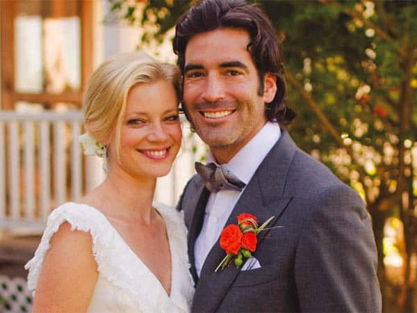 Sweetest Couple Carter Oosterhouse and Amy Smart