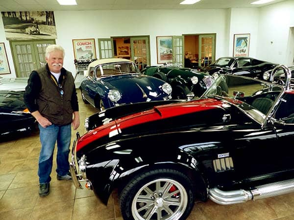 Image of TV Personality, Wayne Carini car collections