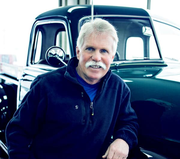 Image of Wayner Carini from the TV show, Chasing Classic Cars.