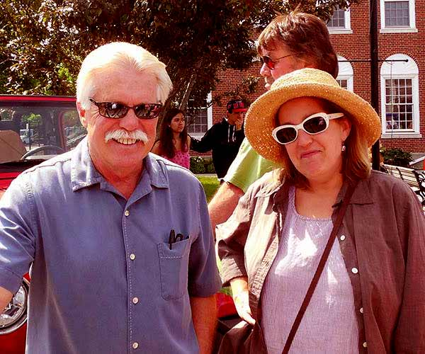 Image of Wayne Carini with his wife Laurie Carini.