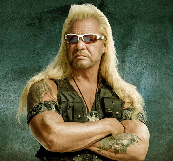 Image of Duane Chapman from the TV reality show, Dog the Bounty Hunter