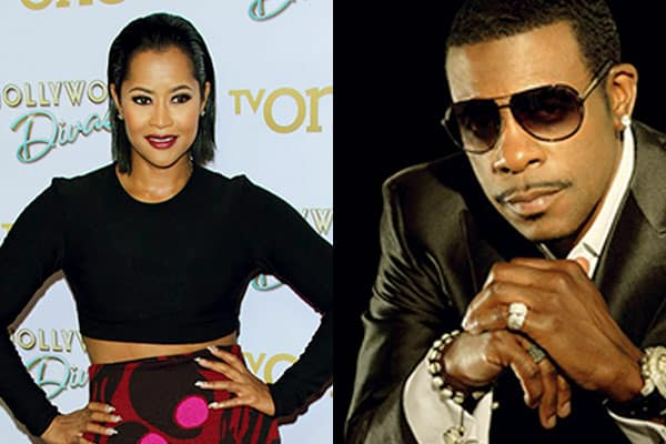 Image of Lisa wu and her first husband Keith Sweat