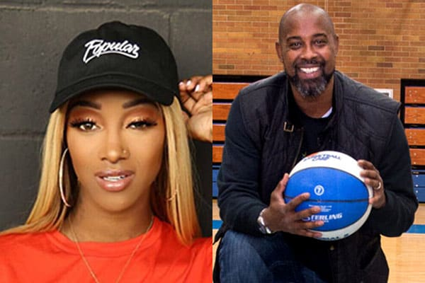Image of Tami Roman and her ex-husband Kenny Anderson