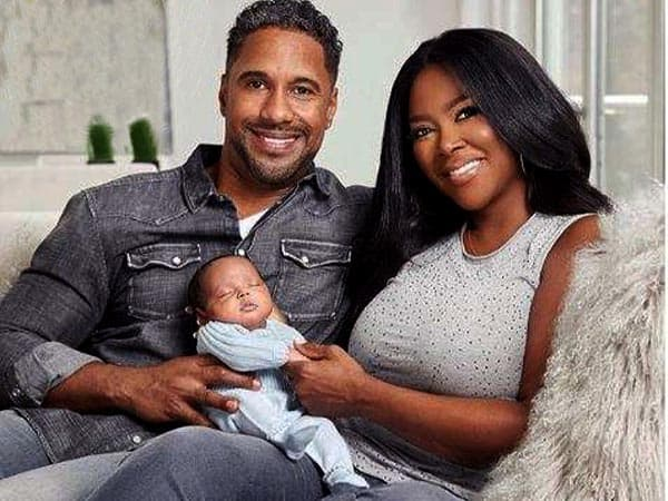 marc daly wife kenya moore and daughter Brooklyn Doris Daly