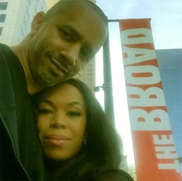 Image of Alexis Fields with her husband Kevin Jackson