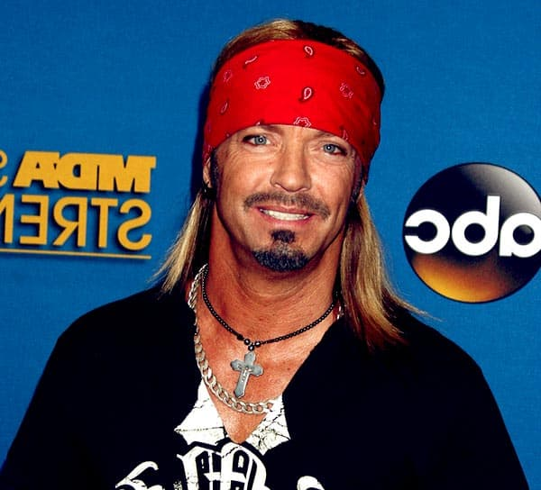 Image of American singer, Bret Michaels