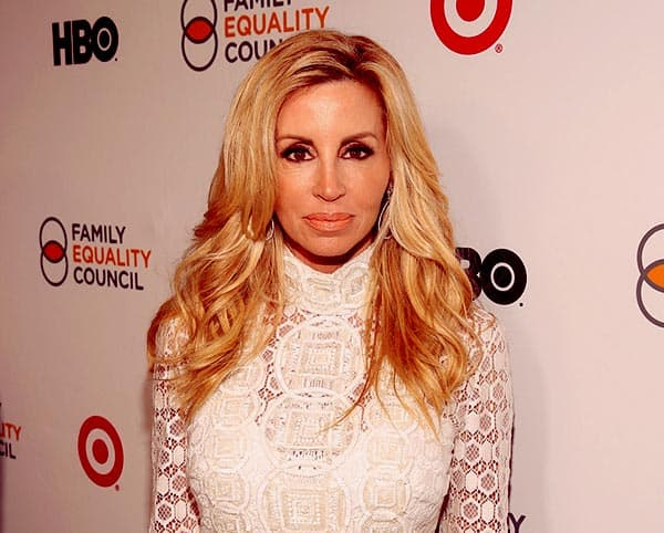 Image of Camille Grammer from the TV reality show, The Real Housewives of Beverly Hills