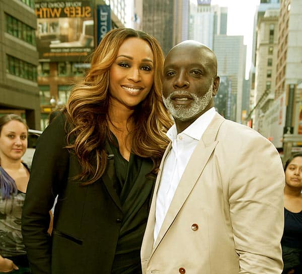Image of Cynthia Bailey with her husband Peter A. Thomas