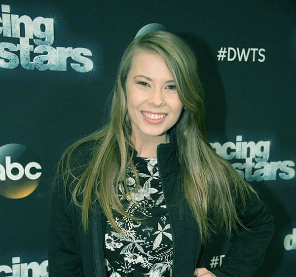 Image of Bindi Irwin from the TV reality show, Dancing with the Stars