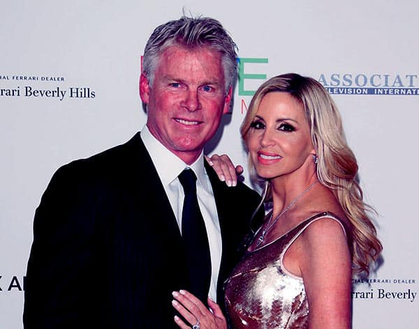 Image of David C. Meyer with his second wife Camille Grammer