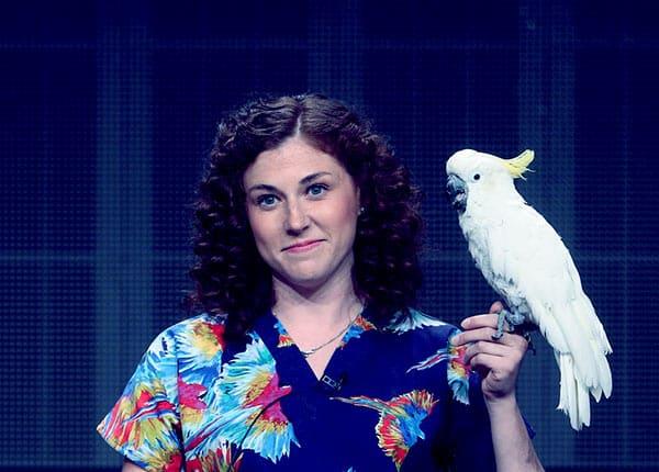 Image of Dr. Lauren Thielen from the TV show, Dr. K's Exotic Animal ER