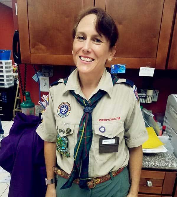 Image of Dr. Susan Kelleher from the TV show, Dr. K's Exotic Animal ER
