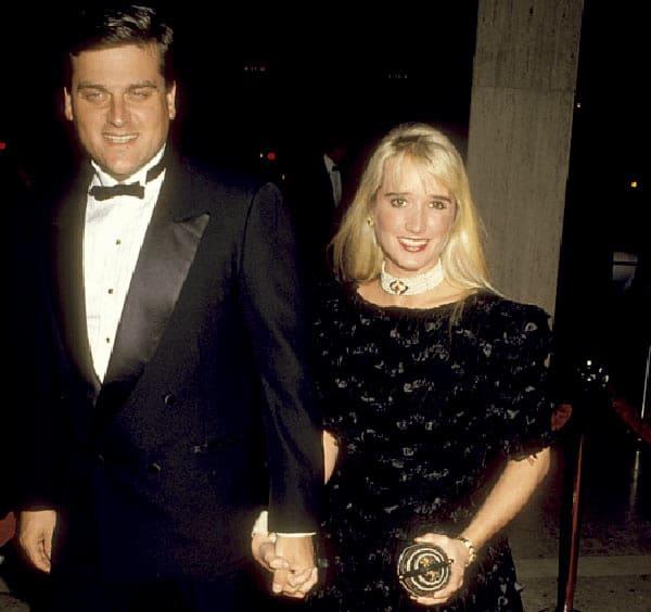 Image of Gregg Davis with his wife Kim Richards