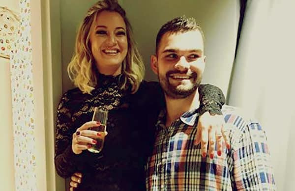 Image of Hannah Ferrier with her boyfriend Isaac Humphries