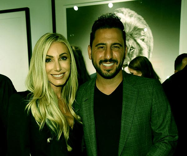 Image of Josh Altman with his wife Heather Altman.