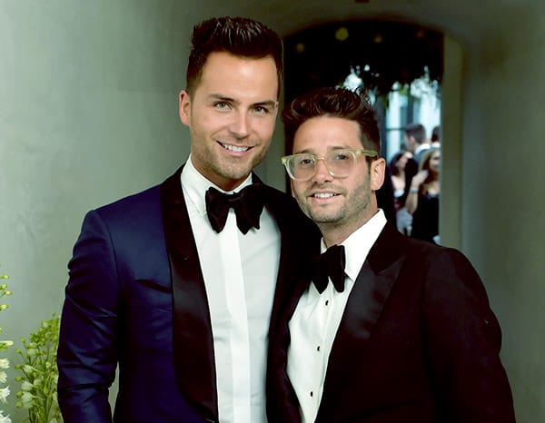 Image of Josh Flagg with his partner Bobby Boyd