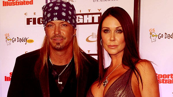 Image of Bret Michaels with his wife Kristi Gibson