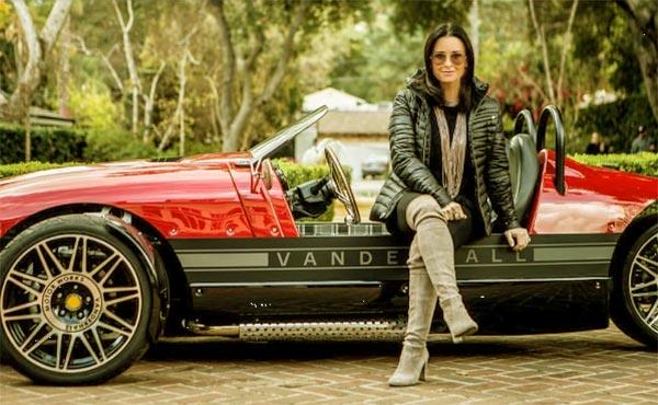 Image of Actress, Kyle Richards car