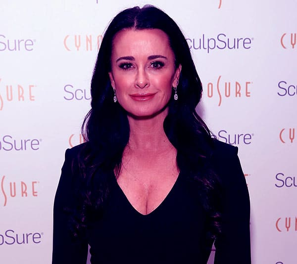 Image of American actress, Kyle Richards net worth is $50 million
