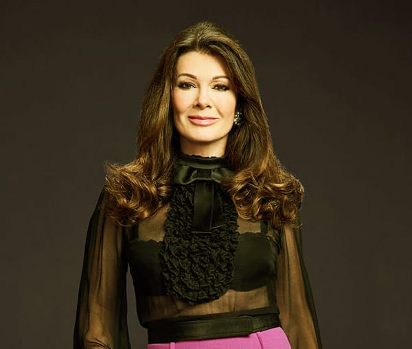 Image of Lisa Vanderpump from the TV reality show, The Real Housewives of Beverly Hills