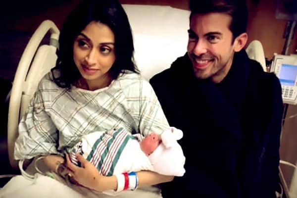 Image of Luis D Ortiz with his ex-girlfriend Nikita and with their daughter