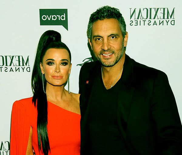 Image of Mauricio Umansky with his wife Kyle Richards
