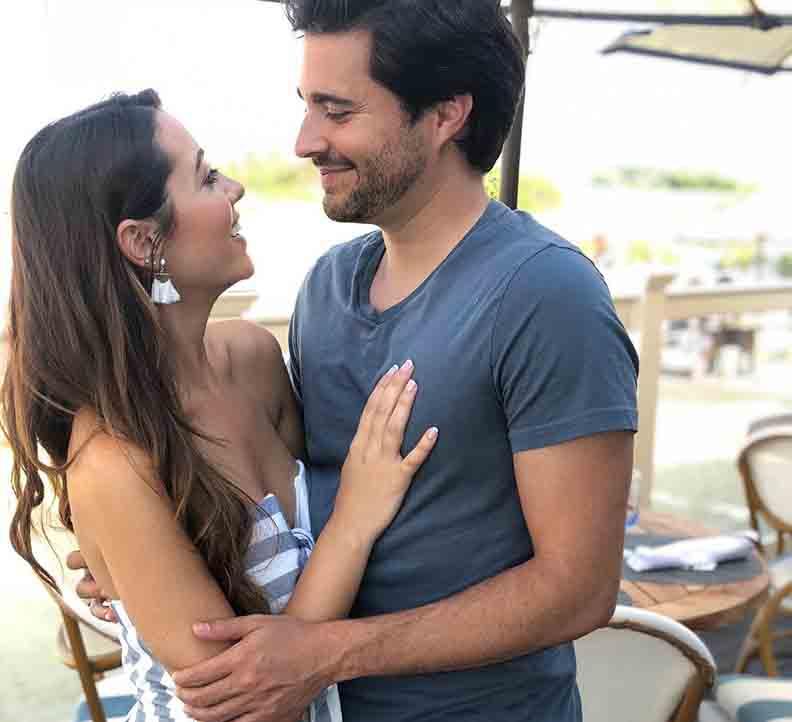 Michael Castellano and his girlfriend Samantha Ledwell