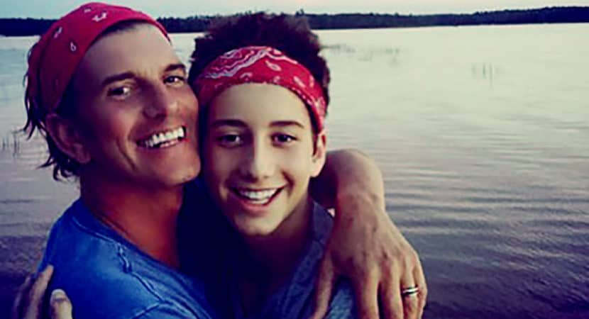 Image of Milo Manheim's Father Jeffrey Brezovar Death, Wiki, & Biography
