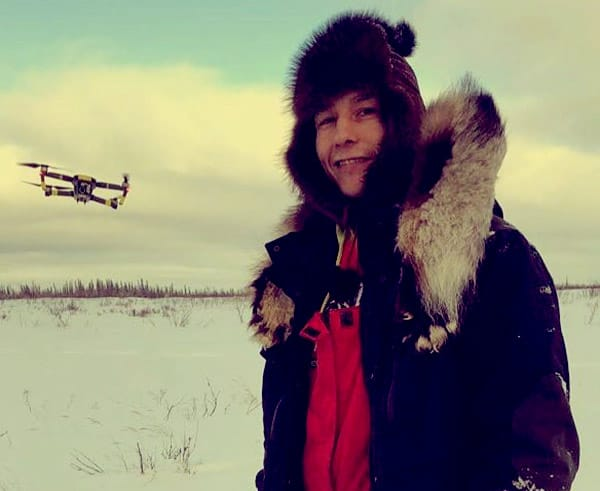 Image of Ricko DeWilde from the TV reality show, Life Below Zero