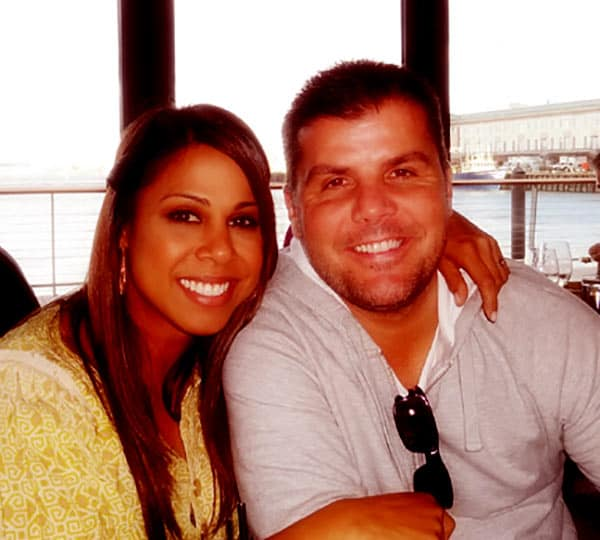 Image of Taniya Nayak with her husband Brian O'Donnell
