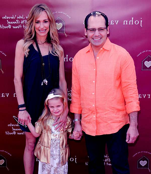 Image of Russell Armstrong Daughter Kennedy, & RHOBH star Taylor Armstrong Attending A Social Event