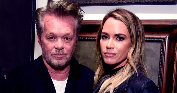 Image of Teddi Mellencamp with her father John Mellencamp