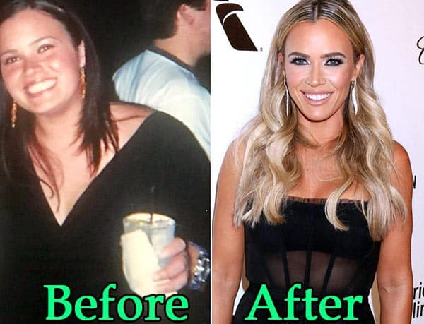 Image of TV Personality, Teddi MellenCamp weight loss before and after