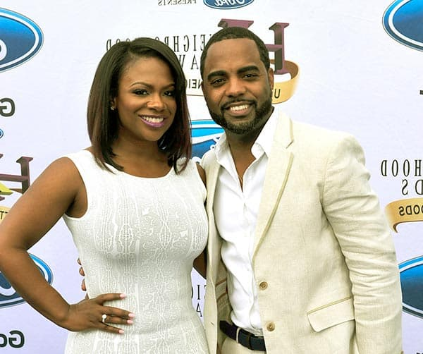 Image of Todd Tucker with his wife Kandi Burruss