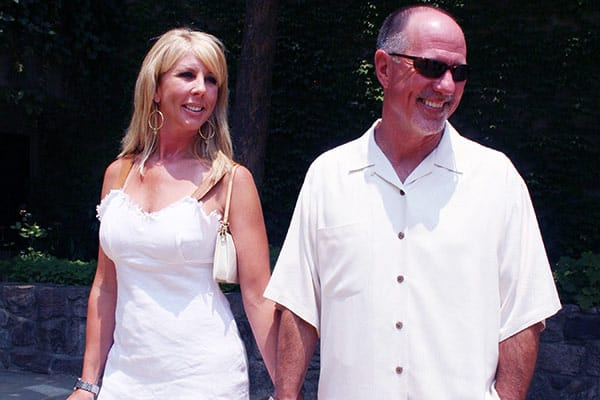 Image of Vicki Gunvalson with her second husband Donn Gunvalson