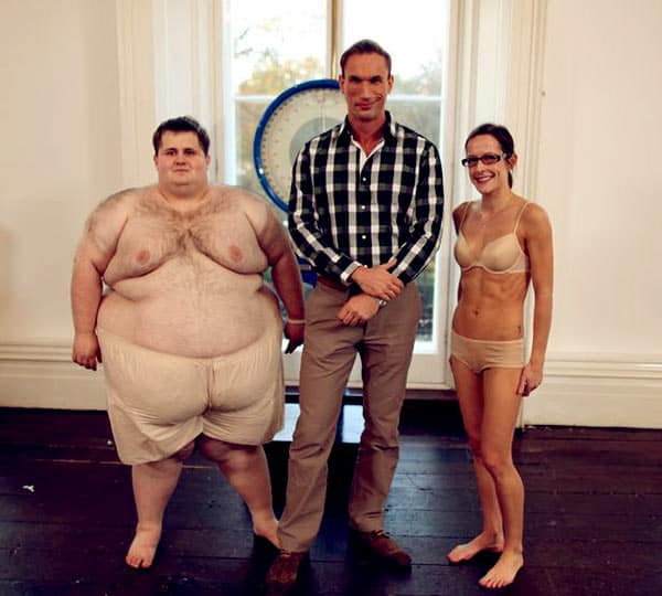 Image of Dr. Christian Jessen on Supersize vs. Superskinny