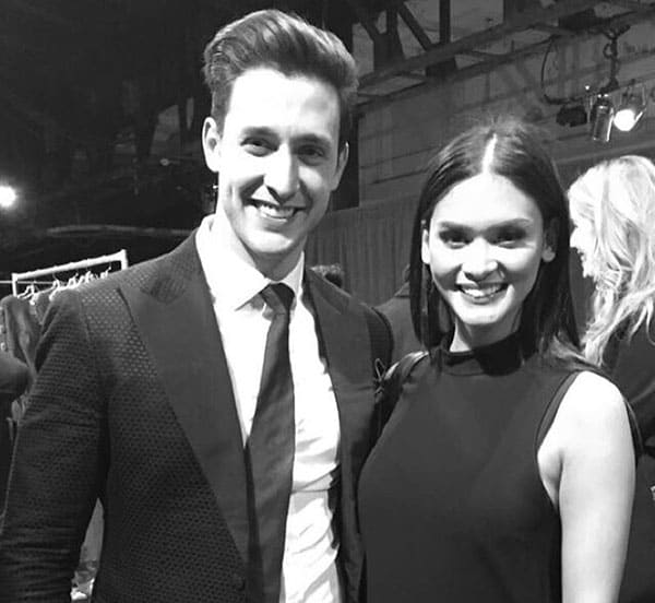 Image of All Black & White Picture Of A Former Couple Pia Wurtzbach and Mikhail Varshavski