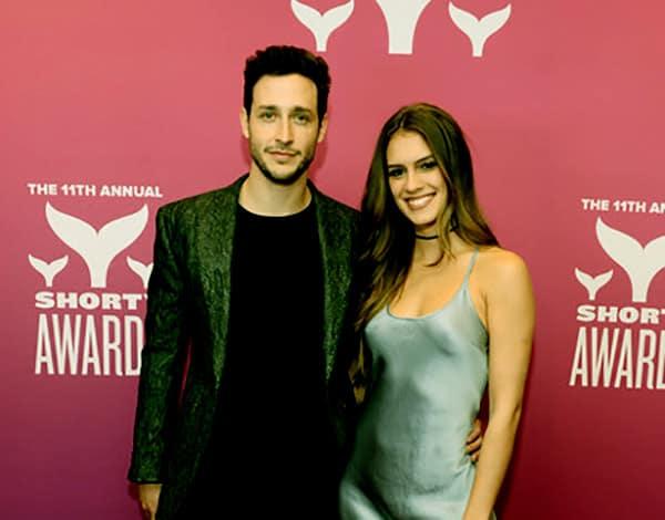 Image of Mikhail Varshavski And His Girlfriend Betsy Alvarez On 11th Annual Shorty Awards, PC: Zambio