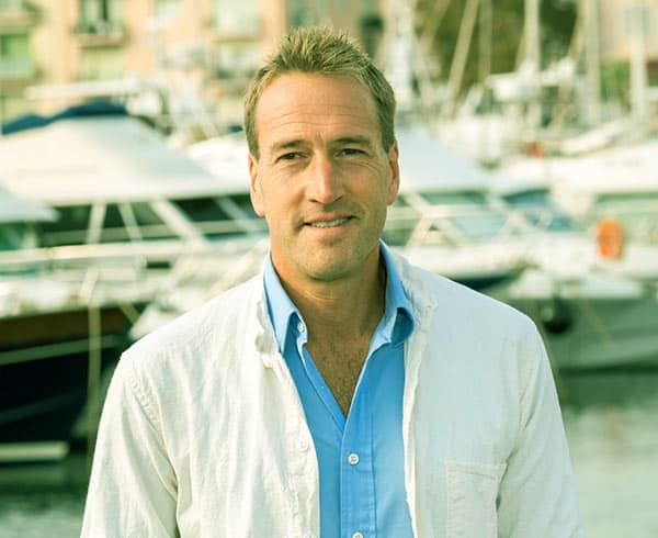 Image of Ben Fogle from the TV show, Ben Fogle: New Lives in the Wild' on Channel 5